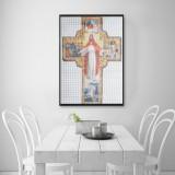 5D Diamond Painting Christ Religious Theme Cross Stitch Kit DIY Decorations Gift