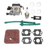 Carburetor Carb Kit for STIHL FS38 FS45 FS46 FS55 KM55 FS85 Air Fuel Filter Gasket