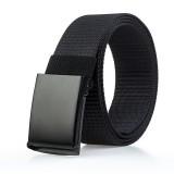 120cm AWMN PH13 3.8cm Military Tactical Belt Quick Fast Release Buckle Nylon Leisure Belts for Men Women