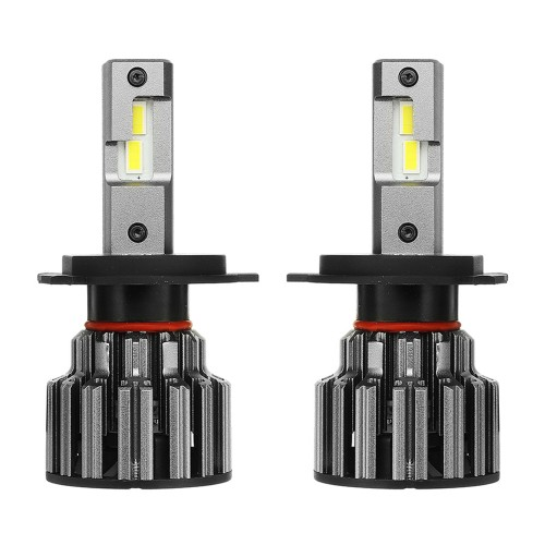 Pair NovSight A397-F03 LED Car Headlights Bulb Lamp H4 H7 H11 9005 9006 70W 12000LM 6000K
