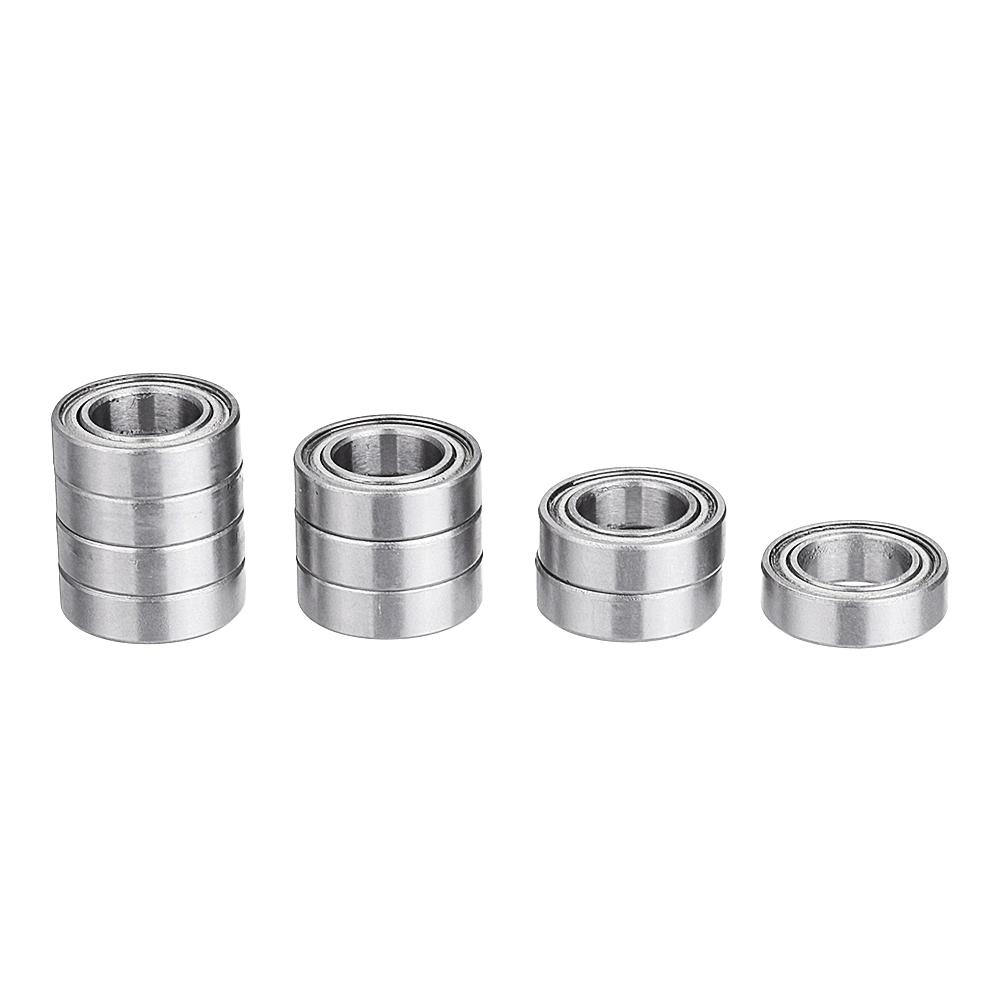 8mm*14mm*4mm 10 pcs MR148zz Mini Metal Double Shielded Ball Bearings