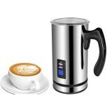 BioloMix Stainless Steel Milk foam Coffee Machine 220V Electric Milk Frother Foamer Milk Warmer