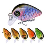 ZANLURE DW1115 10Pcs/Set 28.5mm 1.95G Minnow Hard Fishing Lure 3D Eyes #14 Hook Wobblers Crank Bait