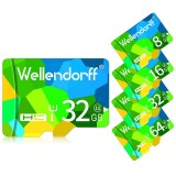 Wellendorff4GB8GB16GB32GB64GB Klasse 10 TF-kort med hy hastighet for mobiltelefon Tablet PC