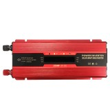 6000W Peak LCD Solar Power Inverter DC12/24V to AC 110V/220V Converter