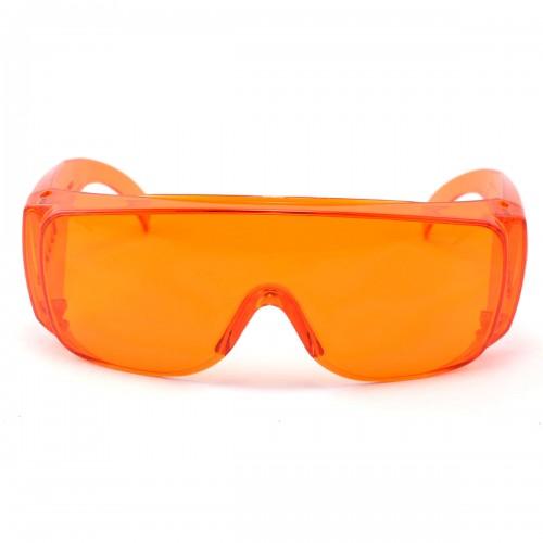 445nm Blue-violet Laser Protective Goggles OD4+ 200-540nm Eye Protection Safety Glasses Orange