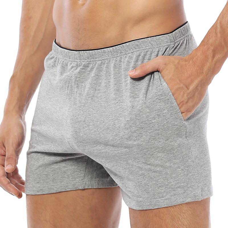 Cotton Comfy Arrow Pants Sport Casual Home Loungewear Sleepwear Shorts for Men