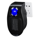 Mini Electric Heater Fan Wall-Outlet Electric Heater Air Heater Warm Air Blower EU Plug