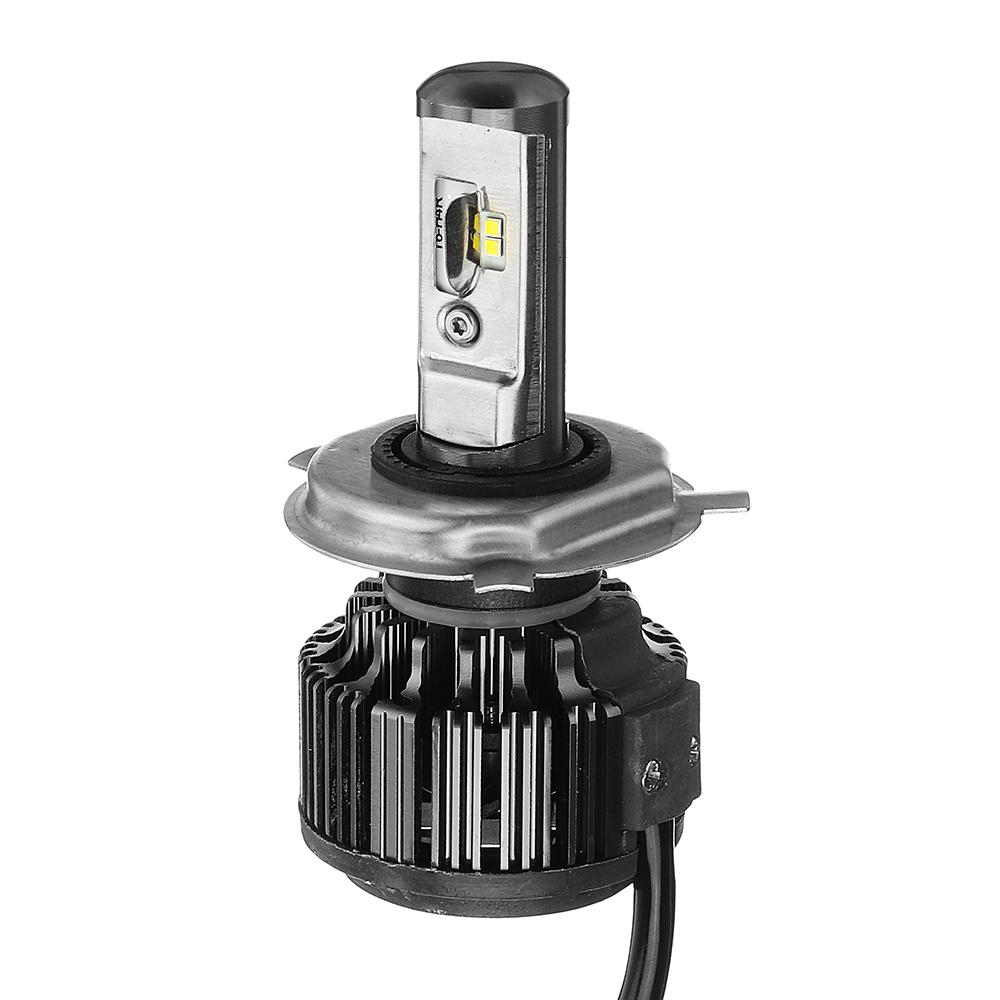 2PCS AKAS T6 70W 7000LM LED Car Headlights Bulbs H1 H3 H4 H7 H11/H8/H9 9005 9006 880 6000K White