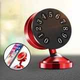 Raxfly Parking Number Plate Powerful Magnetic Fluorescent Car Dashboard Holder for Mobile Phone