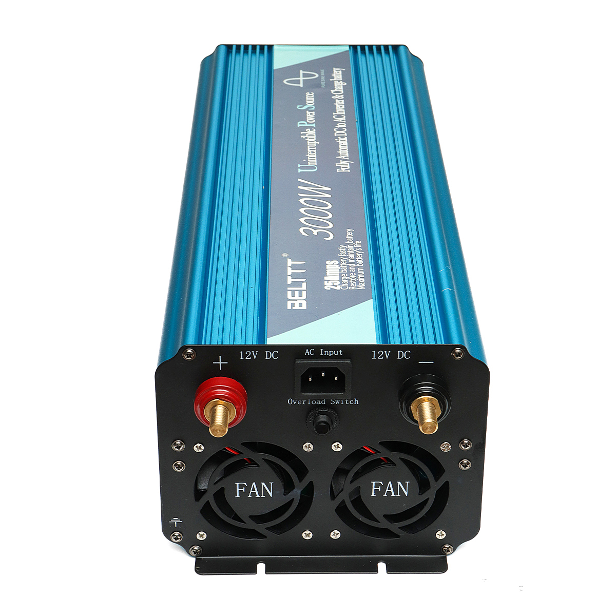BELTTT 6000W 12V/24V To 220V Pure Sine Wave Power Inverter Battery Charger UPS Converter