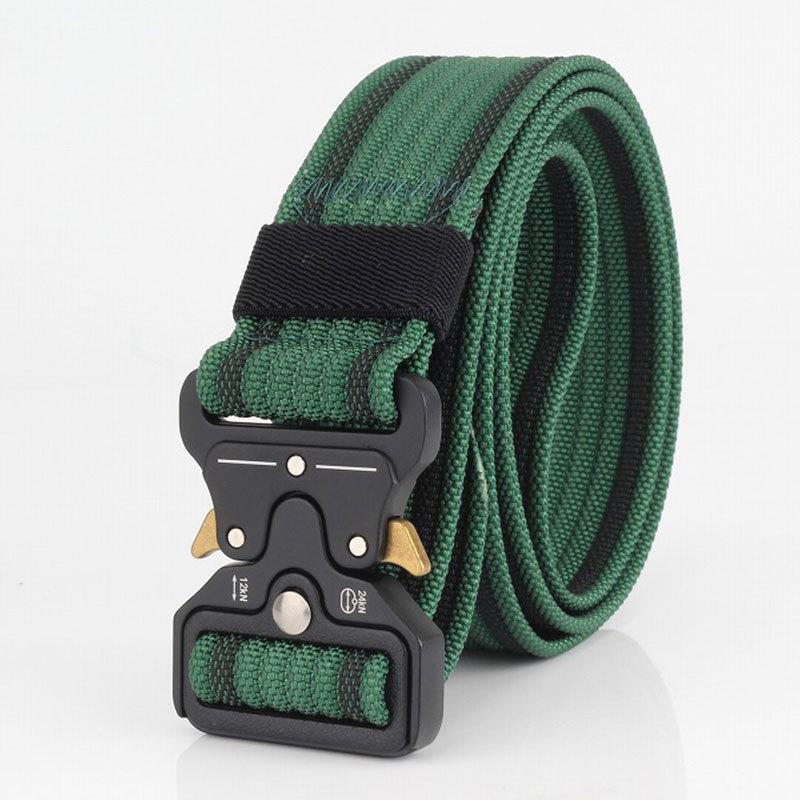 125cm AWMN S05 3.8cm Military Tactical Belt Nylon Inserting Cobra Buckle Belts For Men Women
