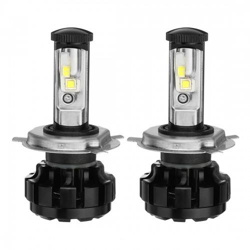 2PCS AKAS U2 80W 7000LM LED Car Headlights Bulbs H1 H3 H4 H7 H11/H8/H9 9005 9006 DC 9-30V 6000K