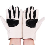 KALOAD Double Layer Canvas Work Welding Gloves Wearproof Security Labor Protection Gloves Fitness