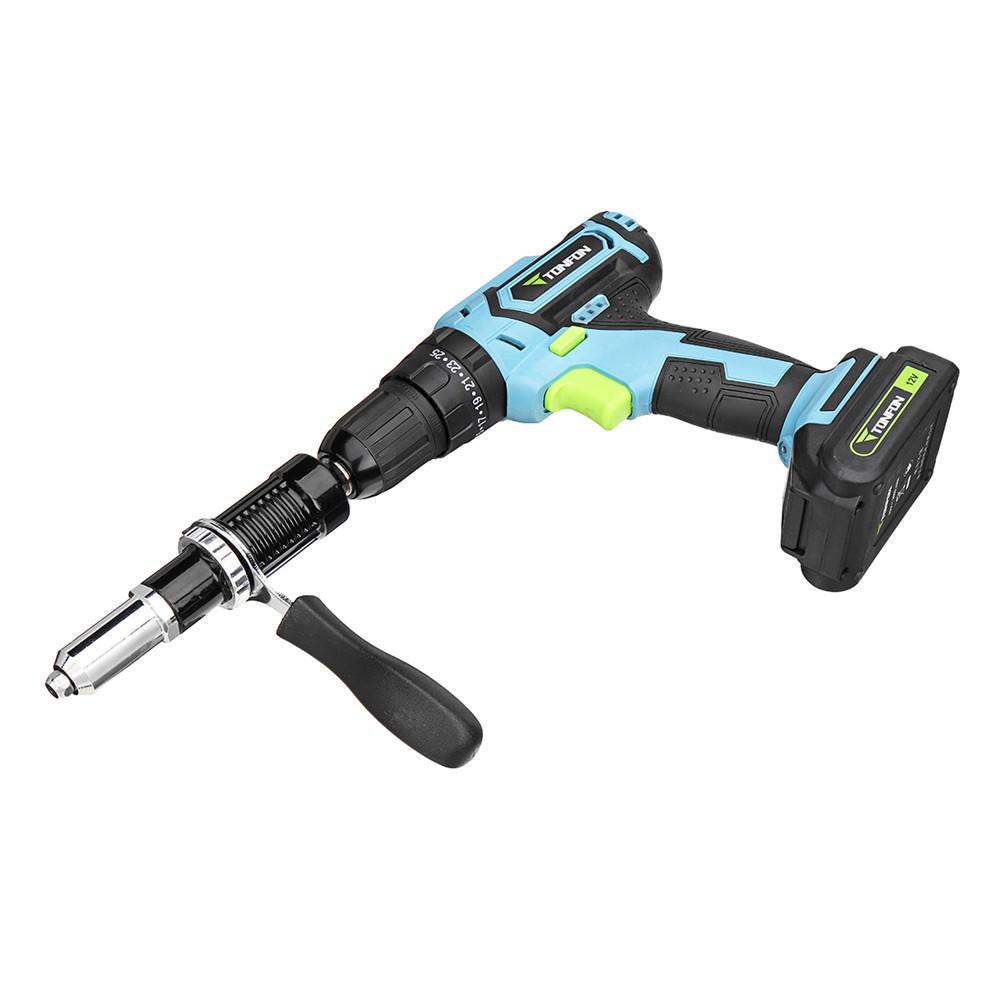 Drillpro Upgrade Electric Rivet Nut Gun Attachment Cordless Riveting Drill Adapter