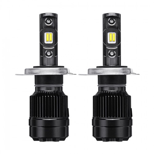 2PCS AKAS R6 70W 8400LM LED Car Headlights Bulbs H1 H3 H4 H7 H11/H8/H9 9005 9006 6000K White