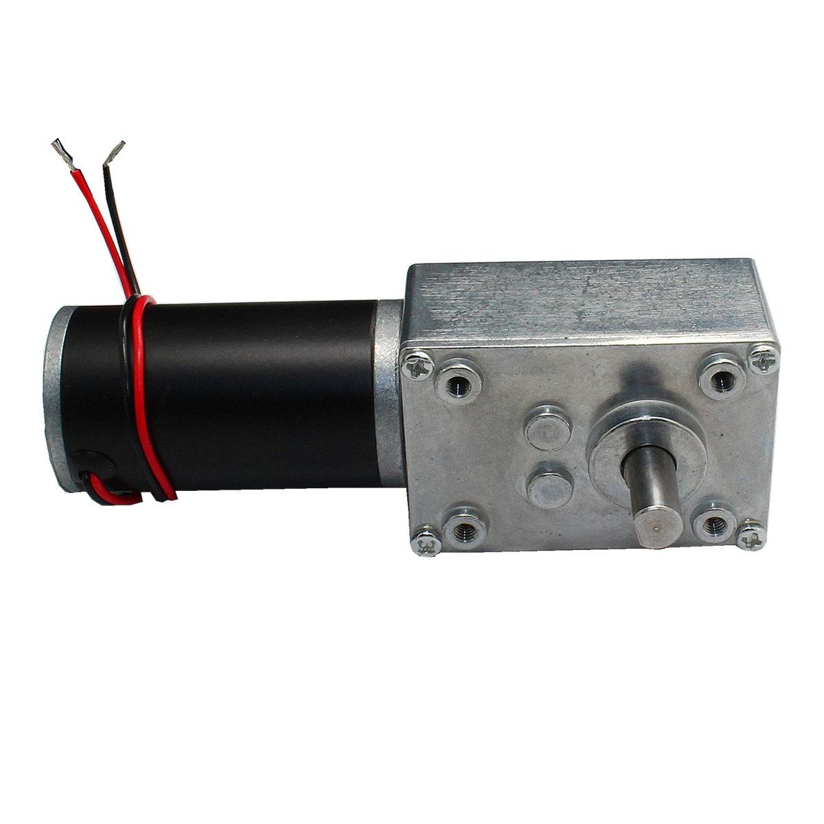 Window Accessories worm gear motor track drive motor GW31ZY 24V 27rpm