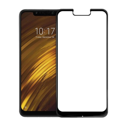 Bakeey 5D Curved Anti-explosion Full Cover Tempered Glass Screen Protector for Xiaomi Pocophone F1