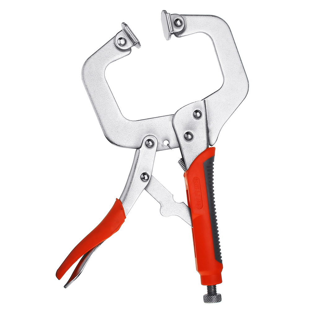 Multi-function Steel 5/6/11/18 Inch Locking C-Clamp Face Clamp Woodworking Vise Grip C Locking Plier