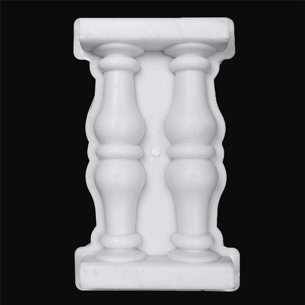 Roman Column Mold Plastic Mould for Concrete DIY Craft Home Garden Ornament  Decor