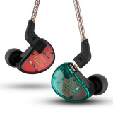 KZ AS10 HIFI 5BA Balanced Armature Driver Earphone 3.5mm Wired Control Bass Stereo Headphone