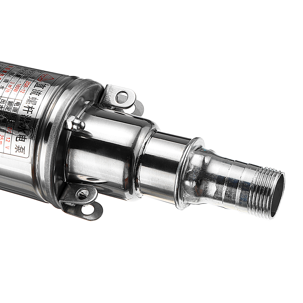 12V/24V Deep Well Pump 300W 8m3/h Solar Submersible Pump