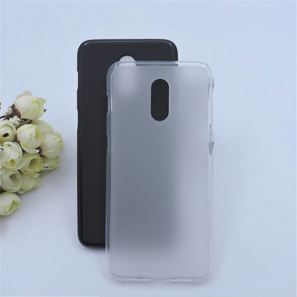 Bakeey Matte Shockproof Soft TPU Back Cover Protective