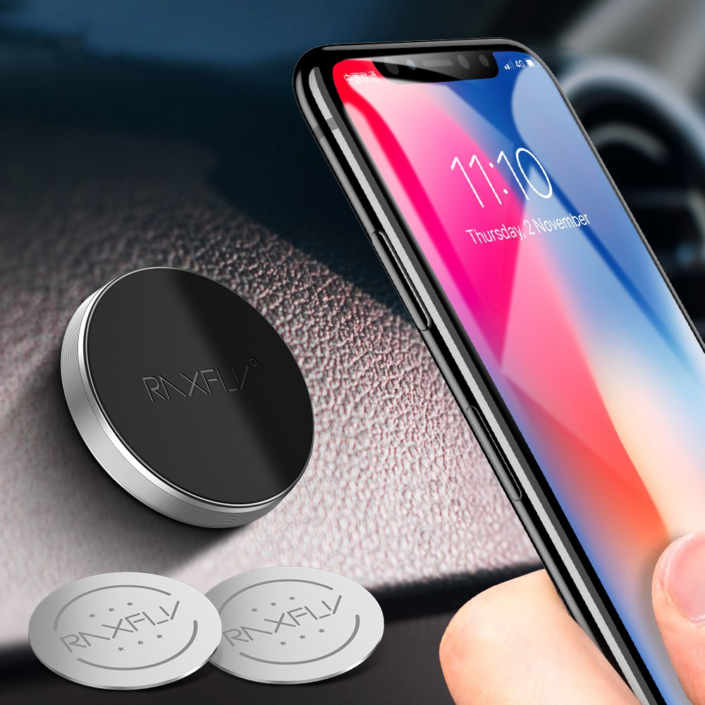 RAXFLY 1PCS Powerful Magnetic Car Dashboard Mount Desktop Holder for Samsung Huawei Smart Phone