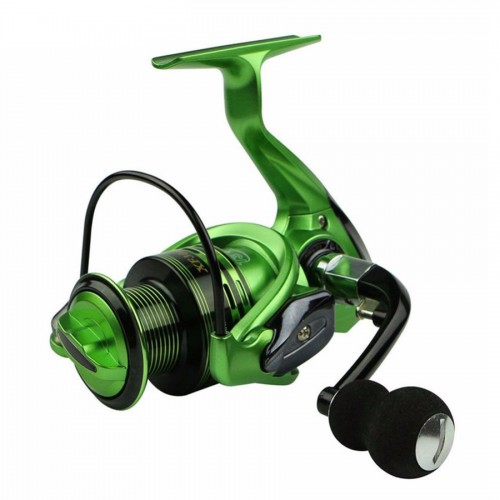 ZANLURE XF2000-5000 5.5:1 13+1BB Left/Right Hand Fishing Reel Pre-Loading Spinning Fishing Wheel
