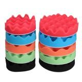 5Pcs 4 Inch 5 Inch Sponge Foam Polishing Pad Waxing Buffing Mats Polisher Kit