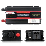 4000W Peak Power Inverter LCD Display DC 12/24V to AC 110V/220V Modified Sine Wave Converter