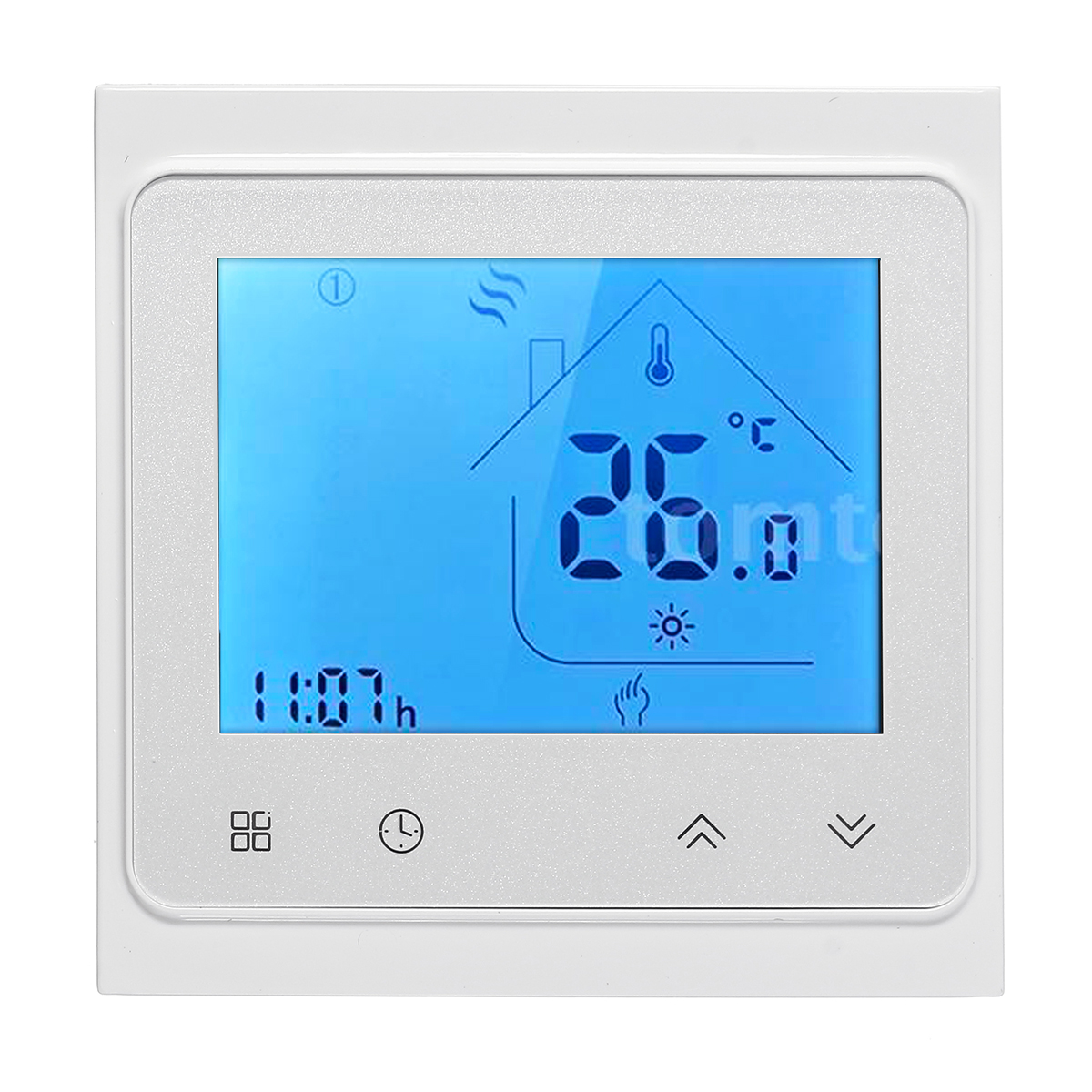 16A LCD Thermostat Programmable Heating Electric Floor Temperature Controller