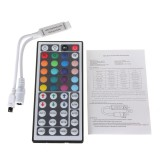 3pcs 44 Key Mini IR Remote Control LED Strip Controller For RGB 3528 5050 Light