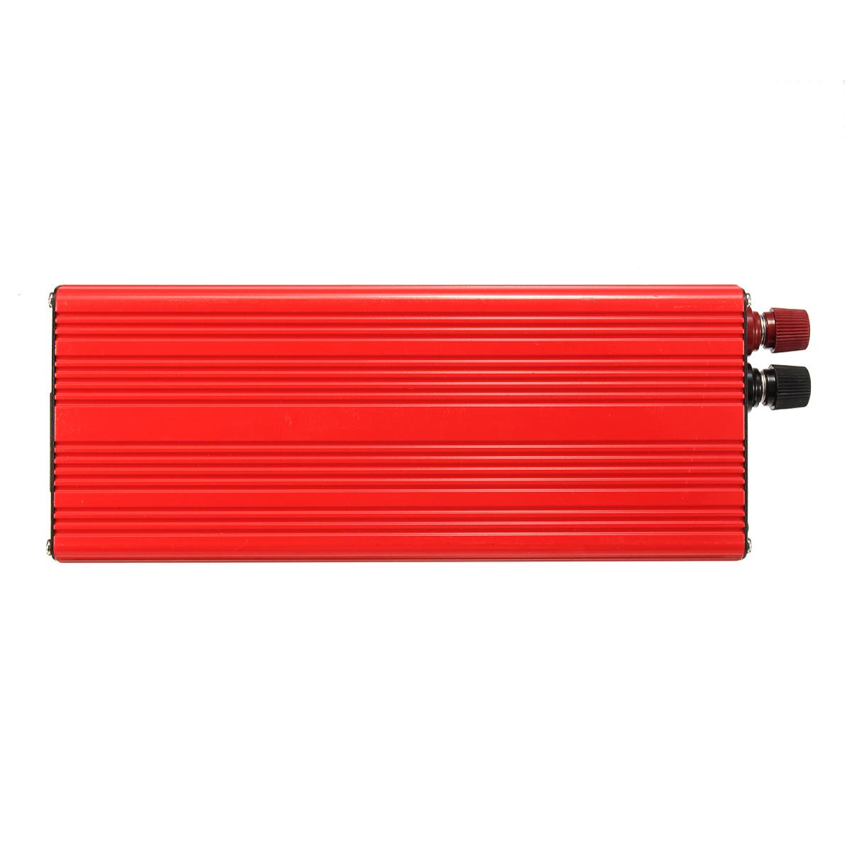 6000W Peak Solar Power Inverter DC 12V/24V to AC 220V/110V USB Modified Sine Wave Converter