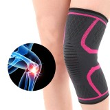 KALOAD 1 Pair Knee Pad Fitness Running Cycling Nylon Elastic Knee Support Non-slip Warm Protector