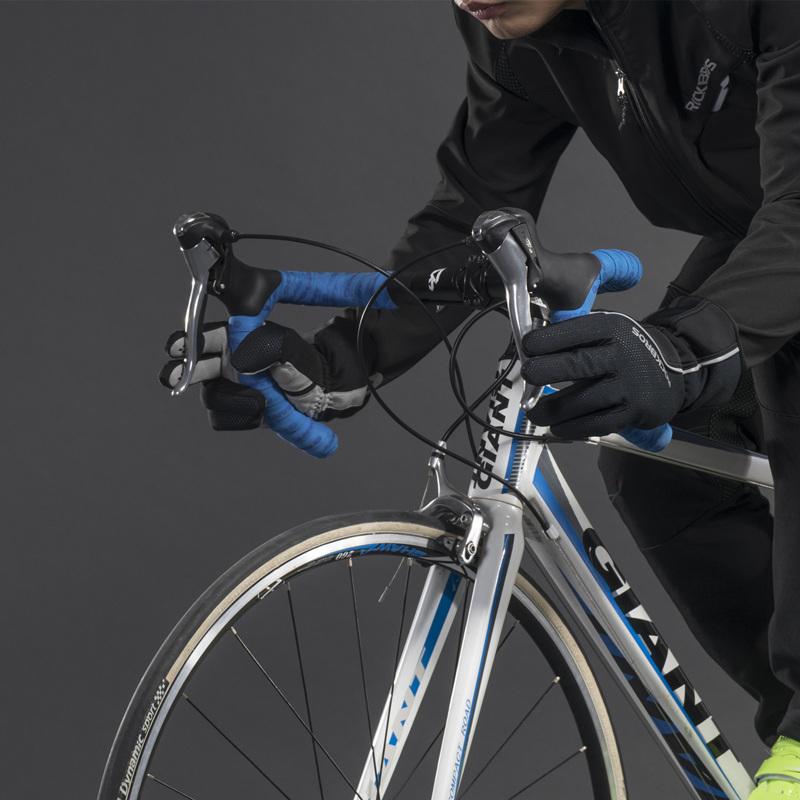 ROCKBROS Cycling Glove Touch Screen Windproof Waterproof Full Long Finger Xiaomi Bike Bicycle