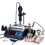 YIHUA 853AAA 3 In 1 Preheating Station Infrared BGA Rework Soldering Station Hot Air Heater