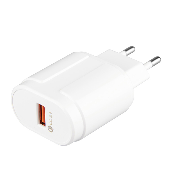 Bakeey 18W QC3.0 Travel Wall Fast USB Charger For Xiaomi Mix 3 Pocophone F1 Oneplus 6T S9 Note 9