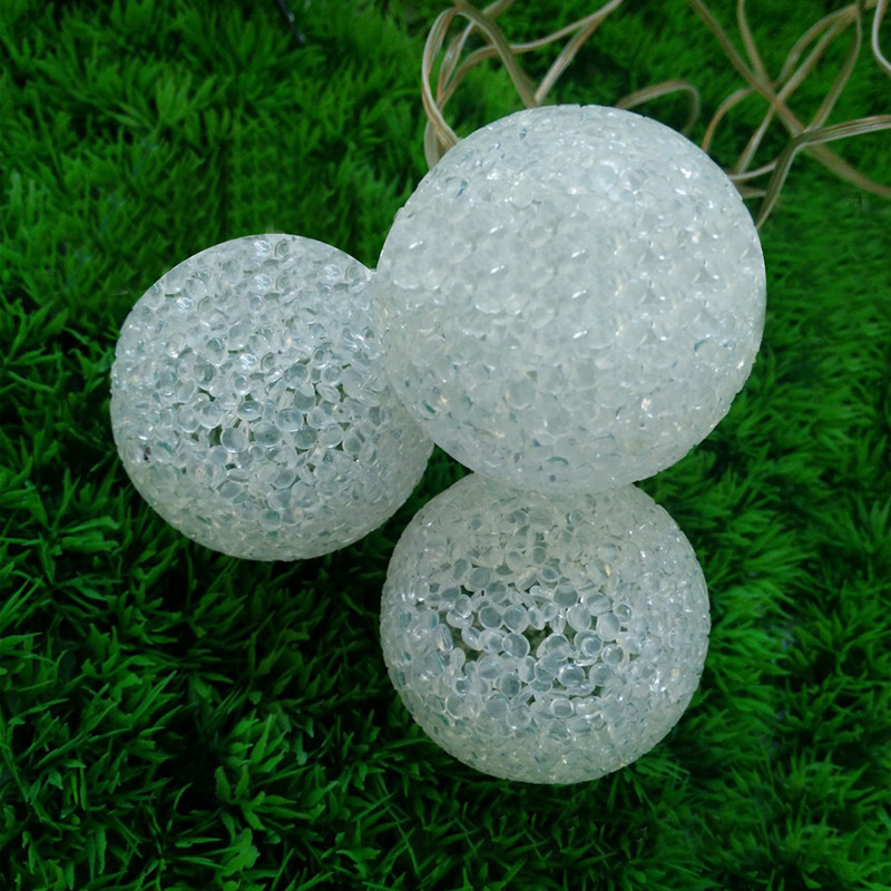 Garden Outdoor Solar Snowball Light String Christmas Party Decoration
