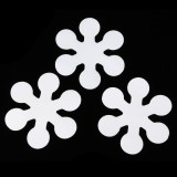 20Pcs Non-Slip Applique Stickers Bath Tub Treads Anti Skid Shower Bathroom Mat Waterproof Tape
