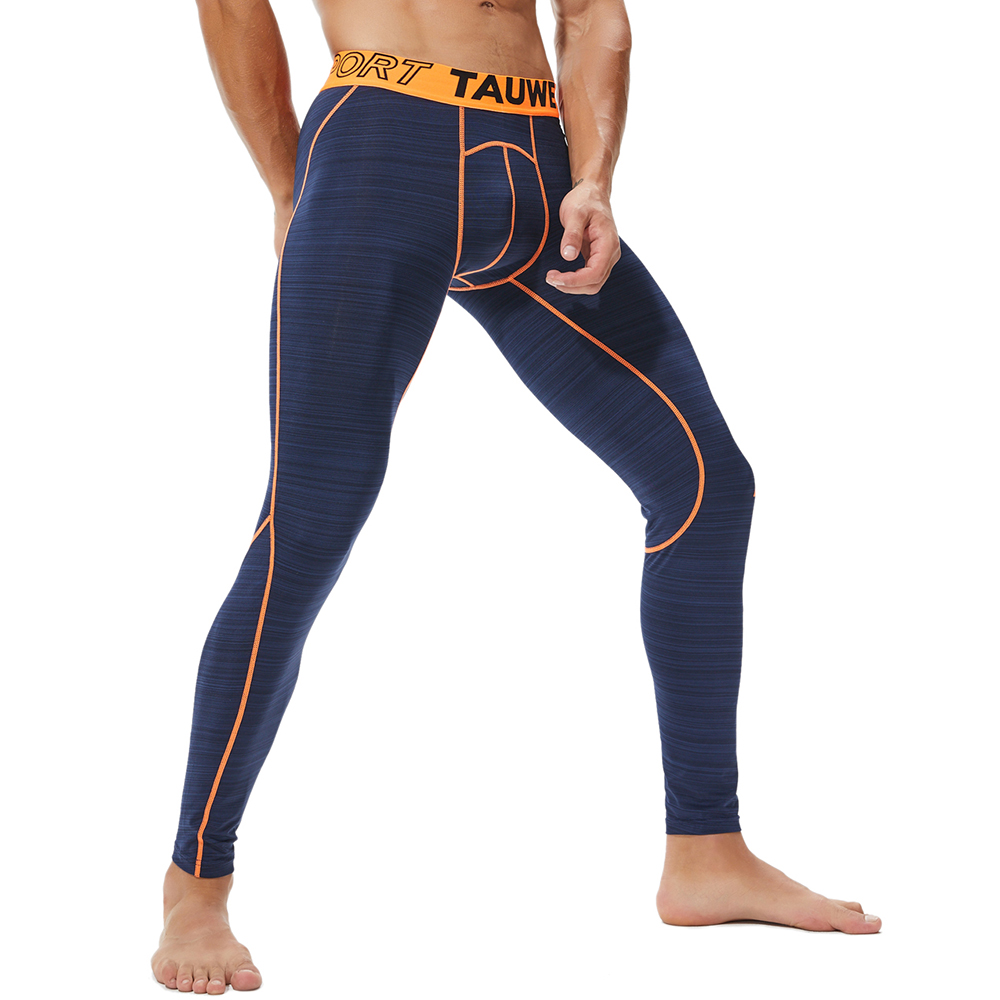 Mens Elastic Sport Gym Tight Pants Compression Underpants