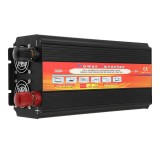 LCD Power Inverter For Solar System 2000W Continious 24V DC To 220V VC Modified Sine Wave Inverter