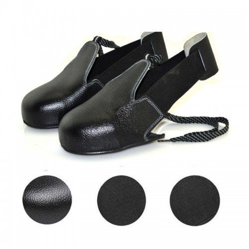 KALOAD 1 Pair Leather Men Women Safety Shoe Covers Wearproof Fitness Security Shoe Toes Protector