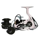Fishdrops HB4000-7000 5.5:1/4.7:1 12+1BB Lightweight Fishing Reel Double Screw Rocker Spinning Reel