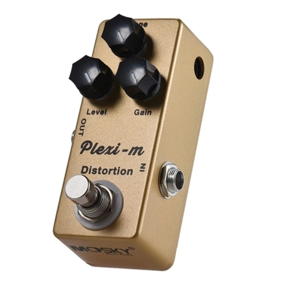 mosky plexi m distortion electric guitar effects pedal full metal shell true bypass. Black Bedroom Furniture Sets. Home Design Ideas