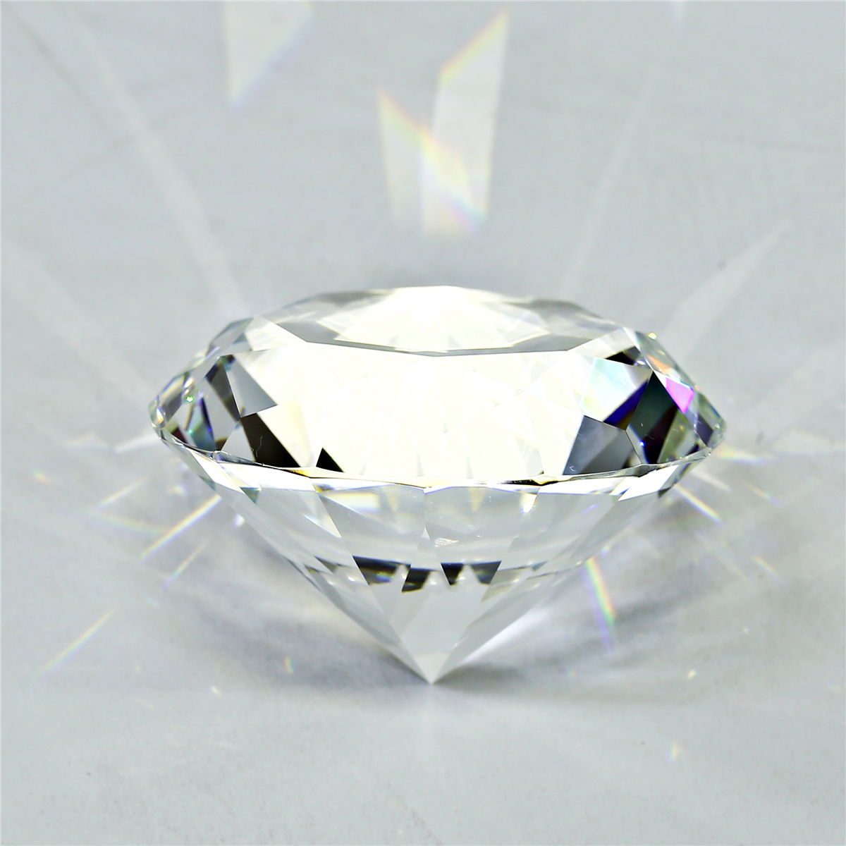 60mm Big K9 Crystal Clear Diamond Glass Art Paperweight Decorations Ornament Creative Gifts