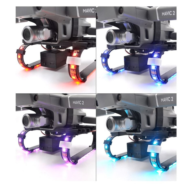 STARTRC DJI Mavic Pro Colorful LED Extended Landing Gear For DJI Mavic Pro Drone Accessories