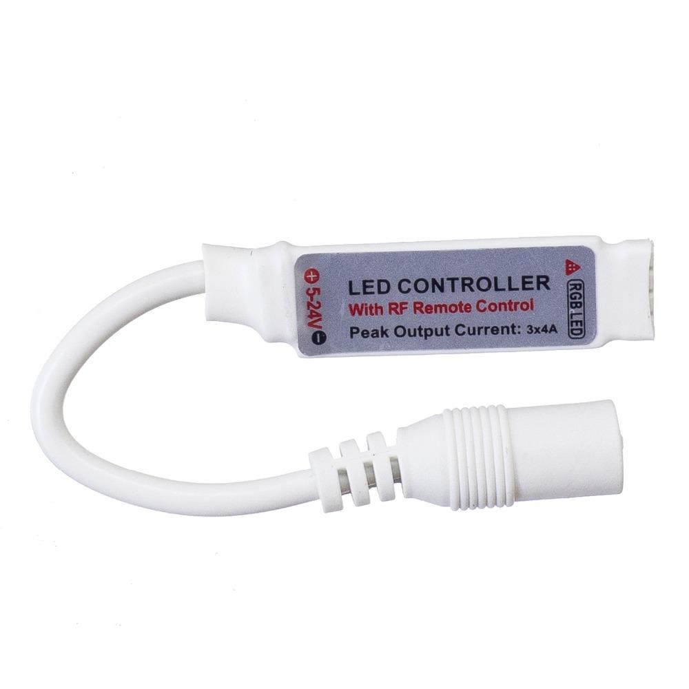 DC5-24V 3*4A RGB 3528 5050 2835 LED Strip Controller 20Keys RF Remote Control