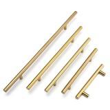 12mm Diameter Stainless Steel T Bar Handles Kitchen Cupboard Drawer Door Handles