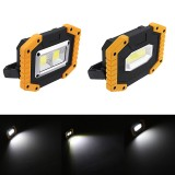 30W USB LED COB Camping Light Portable Flashlight Emergency Work Lamp Waterproof Spotlight Lantern